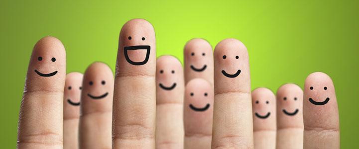 الأشخاص السعداء