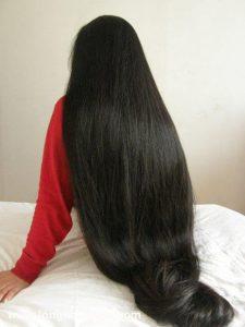 تطويل الشعر بوصفات هندية